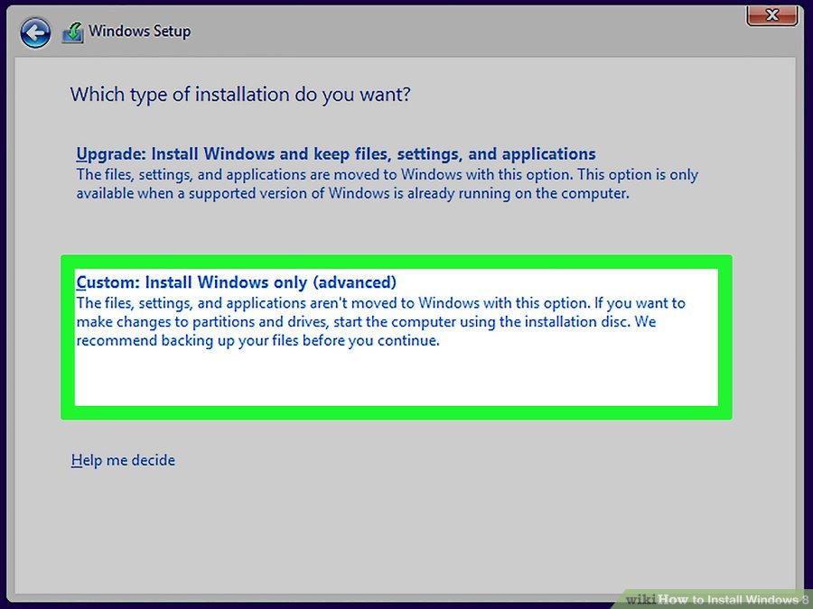 install windows 8 step by step pdf