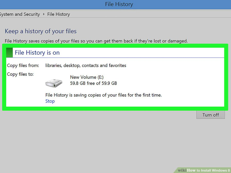 how to install windows 8 step by step ppt