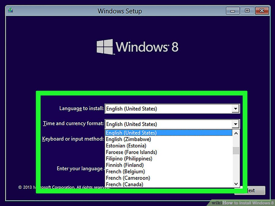 How to Install Windows 8 Step by step - Zee Auctions - Zee